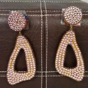 Barbara Groeger Vintage Swarovski Crystal Earrings